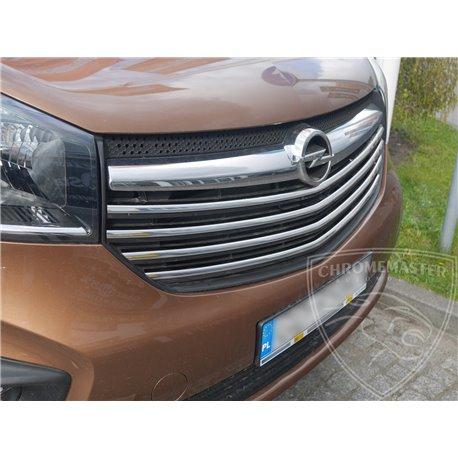 Grillzierleisten Edelstahl Opel Vivaro B