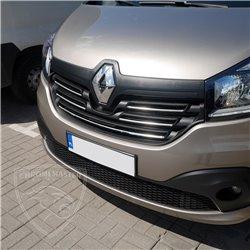Grillzierleisten Edelstahl chrom Renault Trafic III