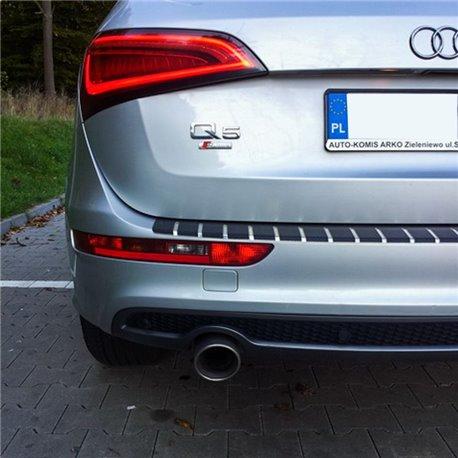 Ladekantenschutz Schutzplatte EDELSTAHL + CARBON Opel Vivaro A
