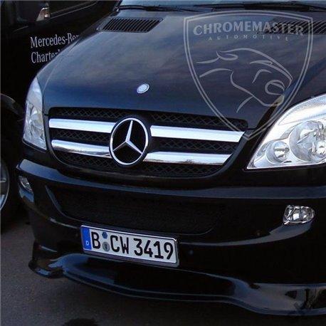 Grillzierleisten Edelstahl chrom Mercedes Sprinter W906 bis Facelift
