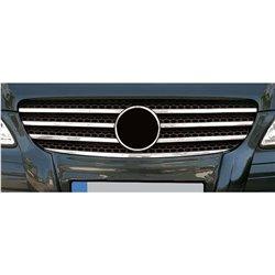 Grillzierleisten Edelstahl Chrom Mercedes W639 Vito Viano bis Facelift