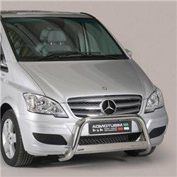 Frontschutzbügel mit EU-Typgenehmigung Mercedes W639 Vito Viano