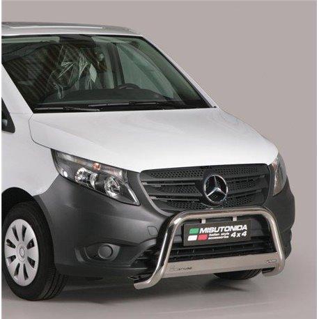 Frontschutzbügel mit EU-Typgenehmigung Mercedes W447 Vito