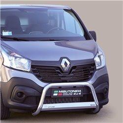 Frontschutzbügel mit EU-Typgenehmigung Renault Trafic 2014+