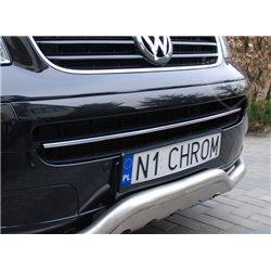 Vordere Stoßfängerleiste Chrom Volkswagen T5 bis Facelift