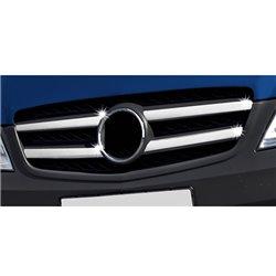 Grillzierleisten Edelstahl chrom Mercedes W639 Vito Viano ab Facelift