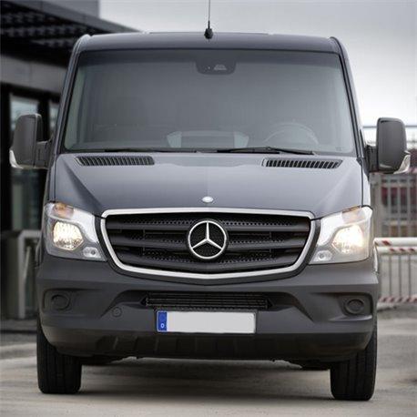 Chrom Stoßstangen Leiste Umrandung 2-tlg Mercedes Sprinter W906 ab Facelift