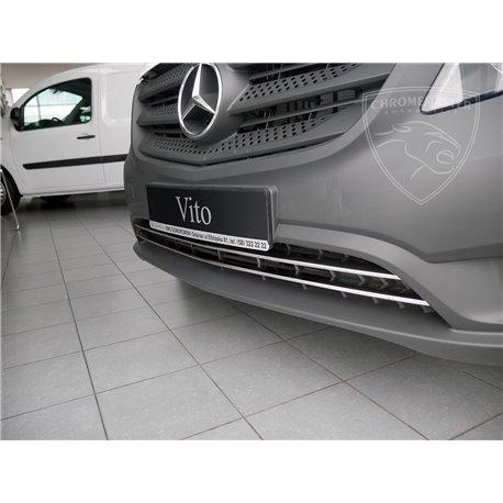 Vordere Stoßfängerleiste Chrom Mercedes W447 Vito