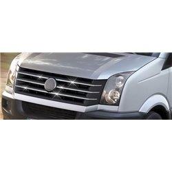 Grillzierleisten Edelstahl chrom Volkswagen Crafter ab 2011