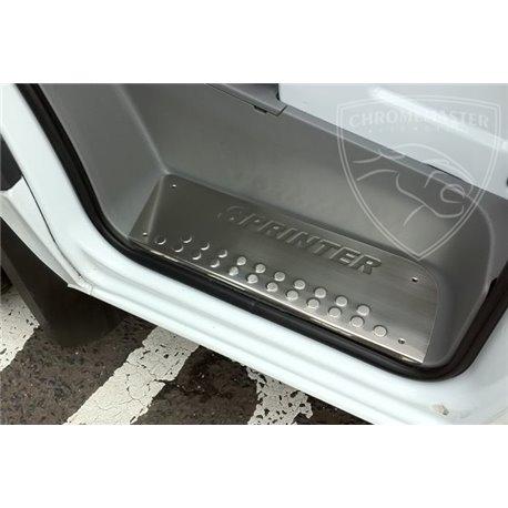 Chrom Einstiegsleisten 3 tlg Edelstahl Mercedes Sprinter W906